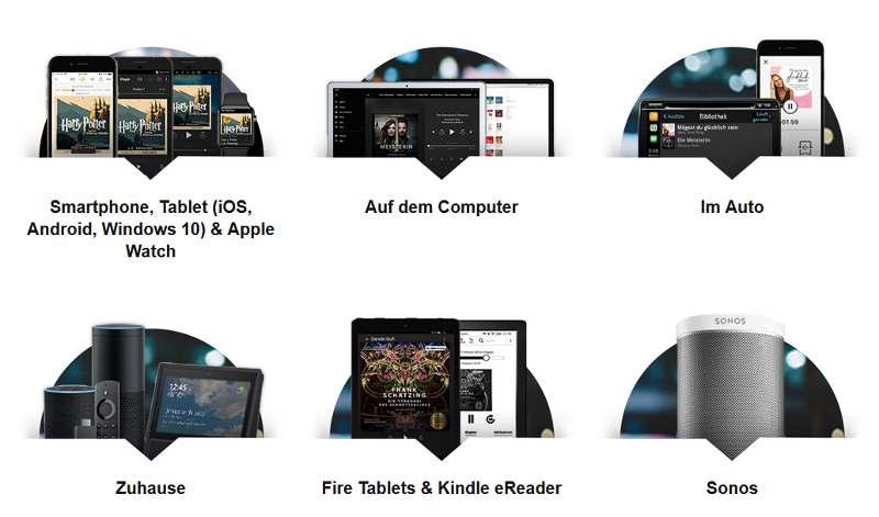 Audible App herunterladen